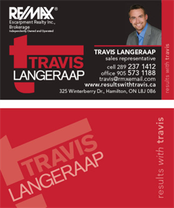 Travis Langeraap - Remax Sales Representative