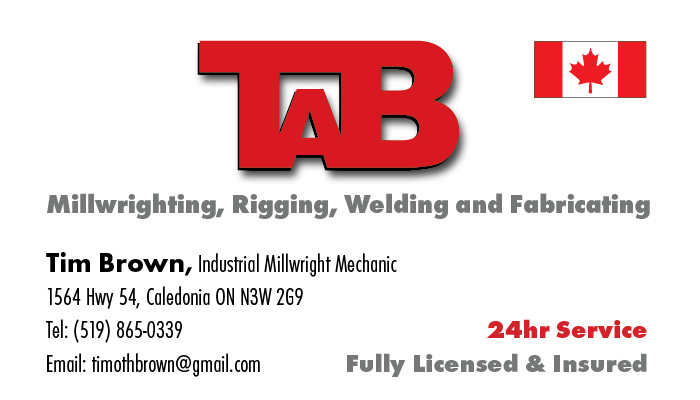TAB Millwrighting